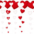 Royalty-Free Stock Photo: Valentine`s card