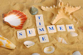 Summer time concept — Stock Photo