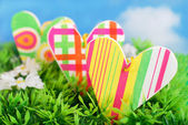 Colorful spring love — Stock Photo