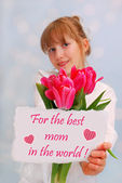 For the best mom in the world — Stock Photo