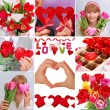 Love collage — Stock Photo #39114001