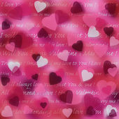 Abstract pink background for valentine — Stock Photo