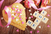 Valentine love declaration — Stockfoto
