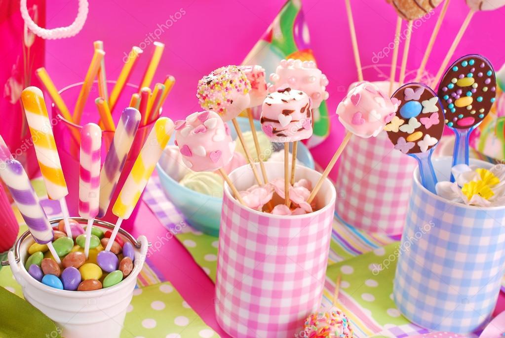 Сладости на детский день рождения рецепты
