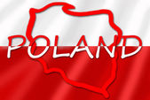 Symbol of Poland — Stock Photo