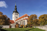Niguliste church in tallinn, estonia — Stock Photo