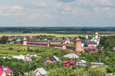 Suzdal, a view of the Saviour Monastery Efimov — Stockfoto