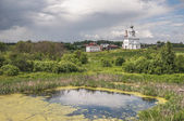 Suzdal, a view of the St. Elias Church — Stockfoto