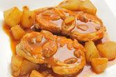 Monkfish stew — Stock Photo