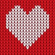 Seamless pattern with heart — Stock Vector #26970513