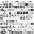 Seamless patterns — Stok Vektör #32076163