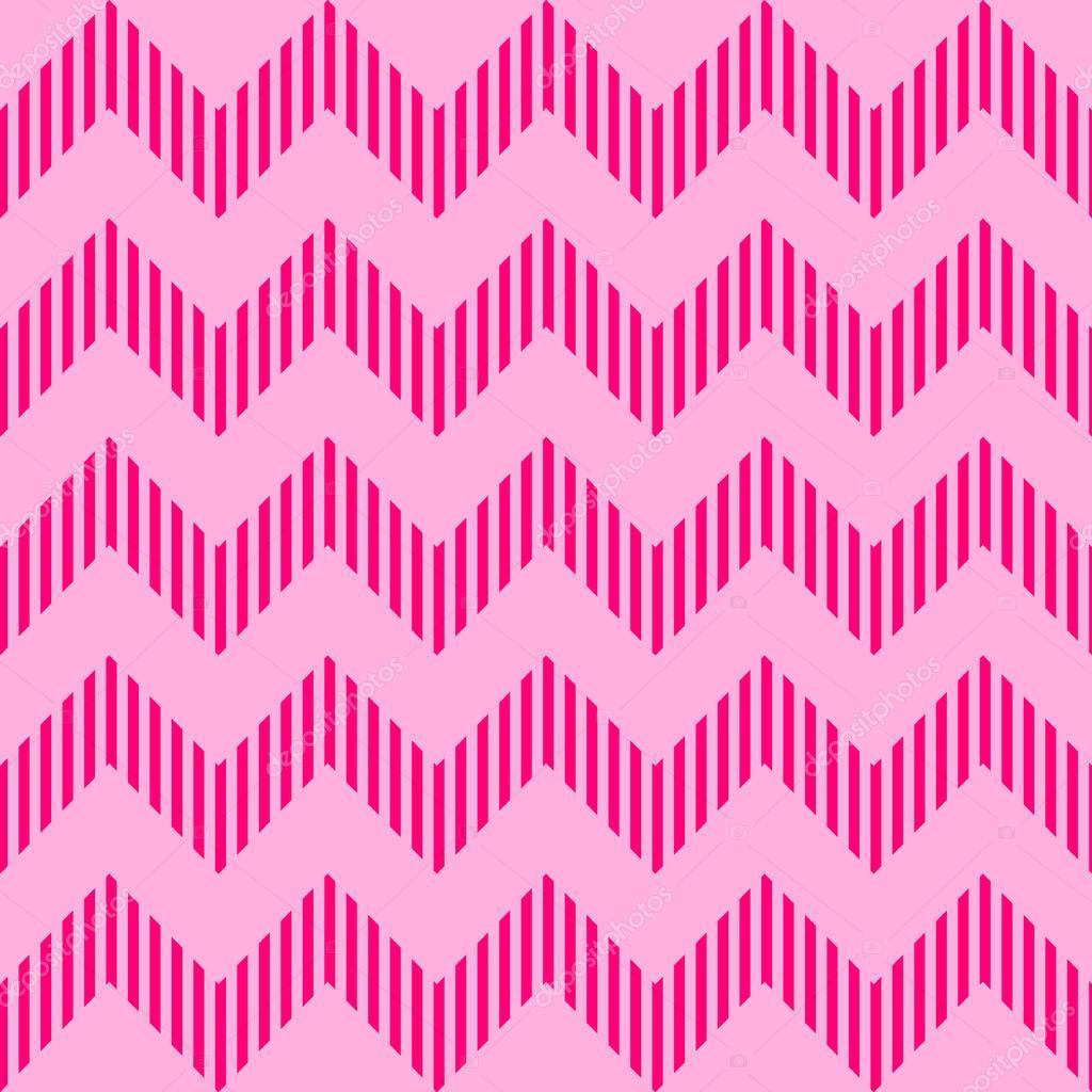 无缝的几何水波纹的图案
