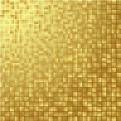 Gouden reflecterende achtergrond — Stockvector