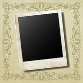 Photo card — Stock Vector