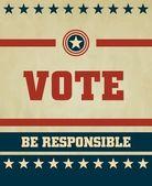 投票的符号 — 图库矢量图片