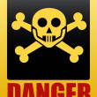 Stock Vector: Danger