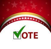 Voting Symbols — Stock Vector