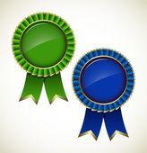 Award rosette — Stock Vector