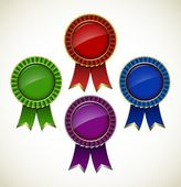 Award rosette — Stockvector