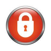 Lock icon — Stock Vector