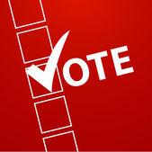 Voting Symbols vector design — Stock Vector