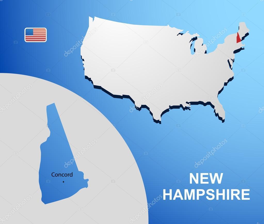 Amazing new hampshire vector photos