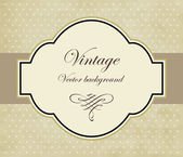 Pastel Vintage vector background — Stock Vector