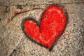 Parete del cuore — Foto Stock
