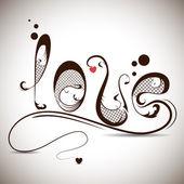Kärlek — Stockvektor