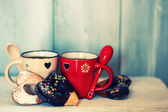 Coffe cups — Stock Photo
