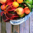 Stock Photo: Autumn fruits
