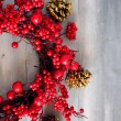 Stock Photo: Xmas garland