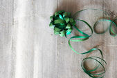 Green ribbon — Foto Stock
