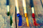 Paints and brushes  — Photo