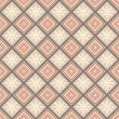 decoratieve naadloze patroon — Stockvector