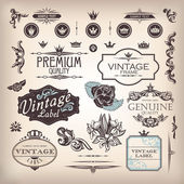 Insieme di elementi di design — Vettoriale Stock