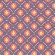 Decorative seamless pattern — Stock vektor
