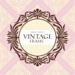quadro floral vintage — Vetor de Stock  #21470715