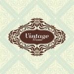 Vintage floral frame — Stock Vector #21470725