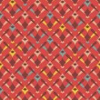 Decorative seamless pattern — Vector de stock