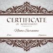 Certificate of achievement — Stock Vector #21471071