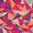 Abstract geometric colorful pattern — Vector de stock #22070599