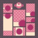 近代的な結婚式のカードのセット — ストックベクタ