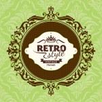 Vintage floral frame — Wektor stockowy  #31135947