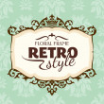 cornice floreale vintage — Vettoriale Stock  #31136019