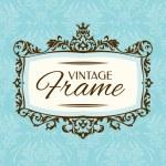 Vintage floral frame — Stock Vector #31136165