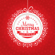 Christmas greeting card — Stock Vector #31820443