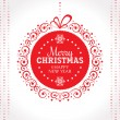 Christmas greeting card — Stock Vector #31820517