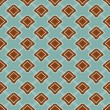 Seamless geometric colorful pattern background — Stok Vektör