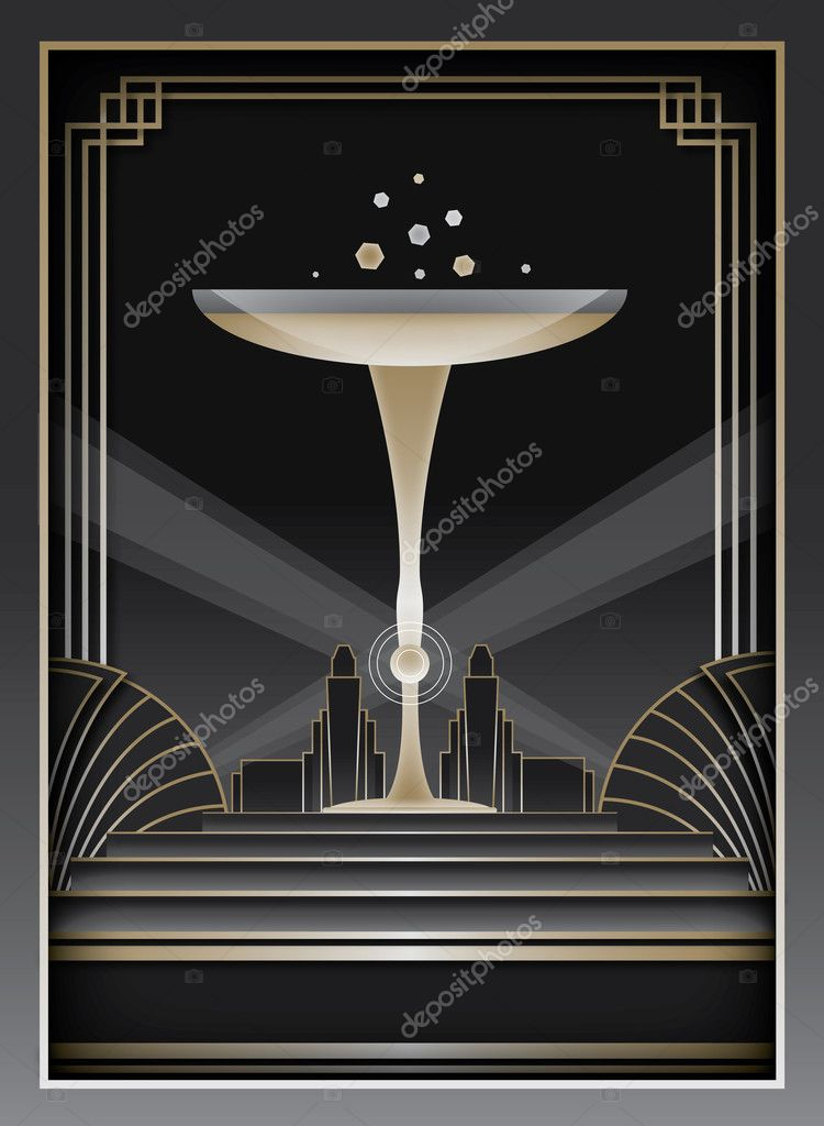 How To Design Art Deco Poster